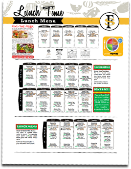 Food Services - Meal Prices, Menus & Payment