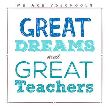 Great Dreams need Great Teachers