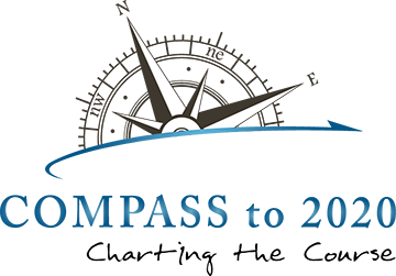 Compass to 2020 Logo