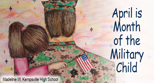April is Month of the Military Child: Madeline W, Kempsville High School.
